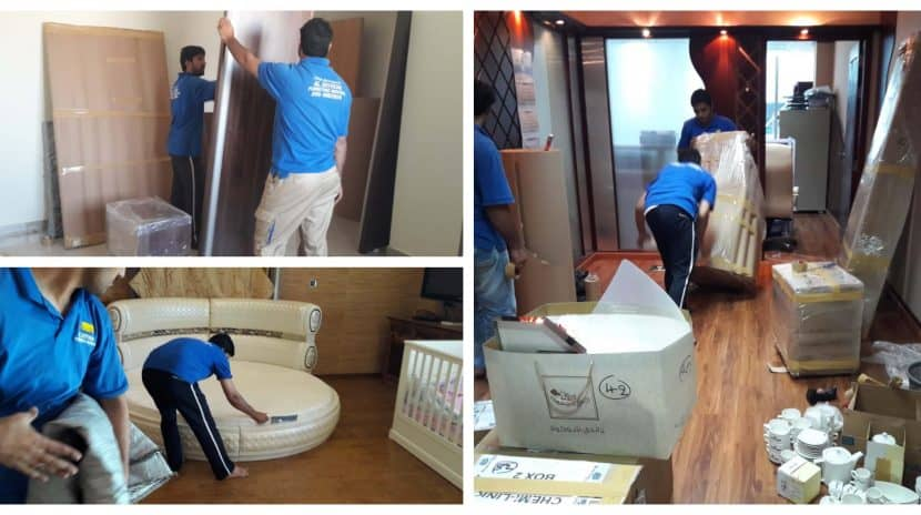 dubai best professional movers at work
