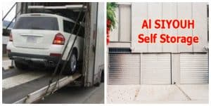 No one self storage and auto mobille movers in Dubai