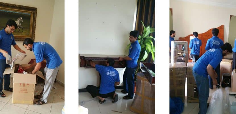 UAE, Dubai , Abu Dubai,sharjah ajman packing Expert packing furniture and other Items.